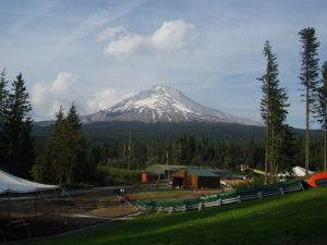 View of Mt. Hood from Skibowl