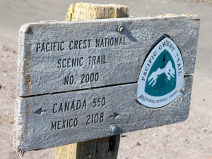 Pacific Crest Trail Market on Mt. Hood