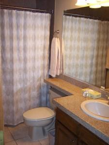 Unit 426 Upstairs Bathroom