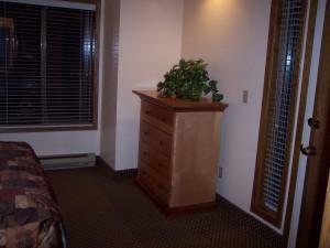 Whispering Woods Resort 2 Bedroom Loft Downstairs Bedroom Dresser