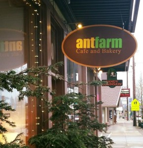 AntFarm Cafe  Bakery- Sandy, Oregon. Photo courtesy of AntFarm