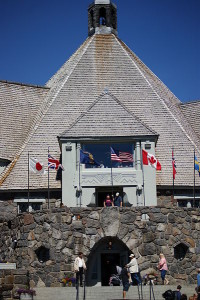 Historic Timberline Lodge, Oregon-Front Entrance